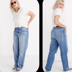 Madewell The Dad Jean Bleached Style